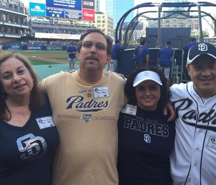 SERVPRO Night at the Padres' Petco Stadium
