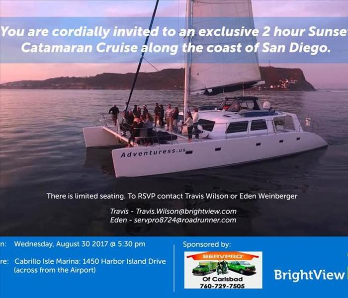 Community Catamaran Cruise Event